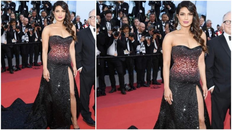 Cannes 2019: Priyanka Chopra Ditches Anything Unusual and Keeps her Debut Outing Very Safe - View Pics