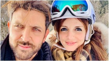 Sussanne Khan Opens Up About Her Equation With Hrithik Roshan Post Divorce