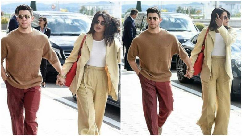Cannes 2019: Priyanka Chopra and Nick Jonas Bid Adieu to the French Riviera Until Next Time - View Pics
