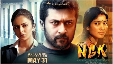 NGK Box Office Collection Day 1: Suriya's Film Mints Rs 1 Crore in Chennai Despite Getting Leaked on TamilRockers