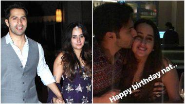This Pic of Varun Dhawan Giving Girlfriend Natasha Dalal A Birthday Kiss Hits the Internet!