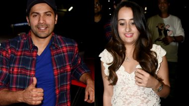Adorable Couple Varun Dhawan and Natasha Dalal Were All Smiles Post Their Dinner Date – View Pics