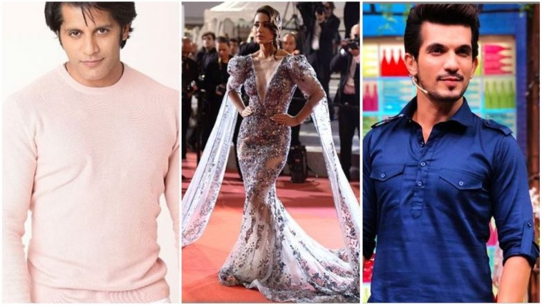 Karanvir Bohra and Arjun Bijlani Slam a Journalist After He Posts Harsh Comment on Hina Khan's Cannes 2019 Look