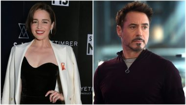 Wait, What? Game of Thrones Actress Emilia Clarke Was Signed for Robert Downey Jr's Iron Man 3