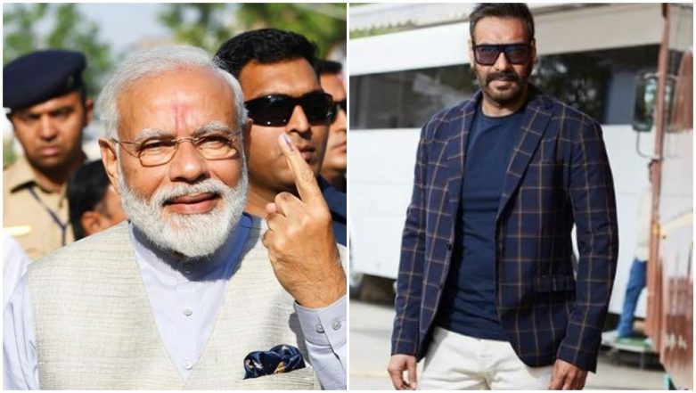 Ajay Devgn Shares His Thoughts on the On-Going Electoral Show, Tweets 'The Country Has Made Its Choice: Narendra Modi'