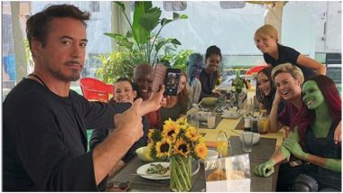 Robert Downey Jr Shares a Throwback Lunch Picture, Tony Stark Played Host to Pepper Potts, Captain Marvel, Nebula, and Other Ladies of MCU