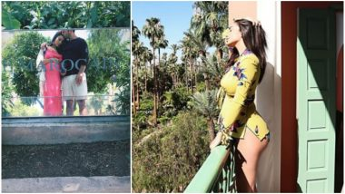 Amy Jackson Goes on a Babymoon With Fiancé George Panayiotou in Marrakech! View Insta Pics