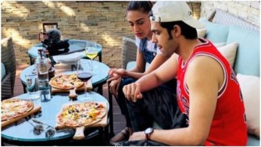 Erica Fernandes Rings in Her Birthday in Mussoorie With Kasautii Zindagii Kay 2 Co-Star Parth Samthaan (Watch Videos)