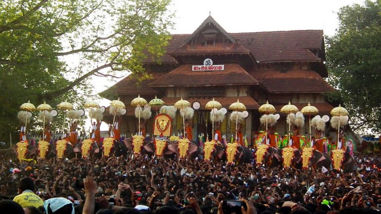 Thrissur Pooram 2019 Live Streaming: Watch Live Telecast of Kerala's Largest Temple Festival