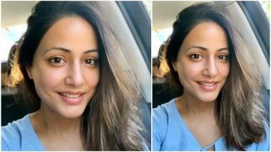 Hina Khan Brightens Up Our Day With Her Non Glam Look (View Pic)