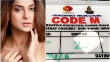 Jennifer Winget Begins Shooting for ALT Balaji's Code M (View Pic)