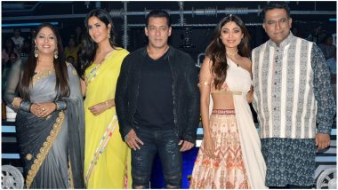 Bharat: Salman Khan and His 'Madam Sir' Katrina Kaif Win Hearts on the Sets of Super Dancer Chapter 3! See Pics