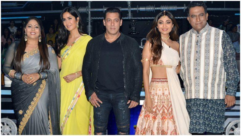 Bharat: Salman Khan and His 'Madam Sir' Katrina Kaif Win Hearts on the Sets of Super Dancer Chapter 3! See Pics