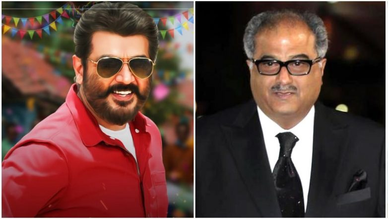 Nerkonda Paarvai Producer Boney Kapoor Wishes Thala Ajith on His 48th Birthday!