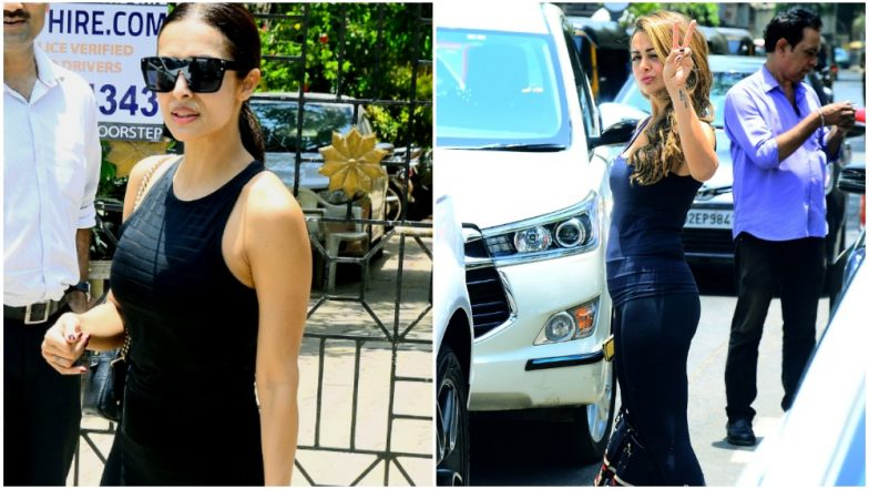 Neither Can the Hot Summers Stop Arora Sisters Malaika and Amrita From Hitting the Gym! View Pics
