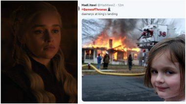 Game of Thrones 8 Episode 5: Twitterati Makes Memes on Daenerys' Destruction of King's Landing and Jon Snow Being Jon Snow – Read Tweets