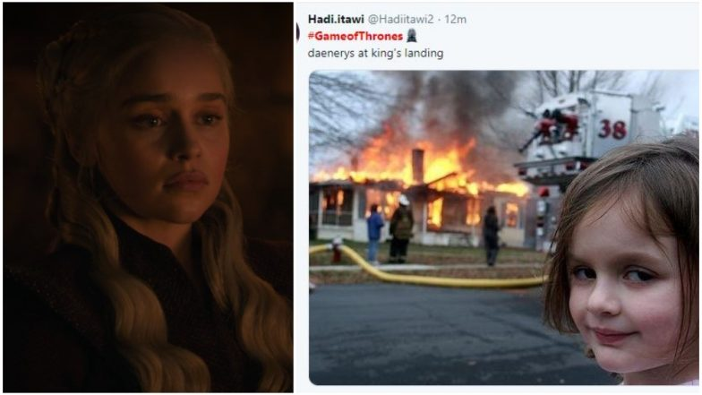 Game of Thrones 8 Episode 5: Twitterati Makes Memes on Daenerys' Destruction of King's Landing and Jon Snow Being Jon Snow – Read Tweets