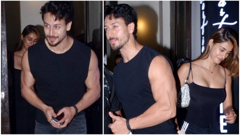 B-Town's Favourite Couple Tiger Shroff and Disha Patani Were All Smiles Post Dinner Date! See Pics