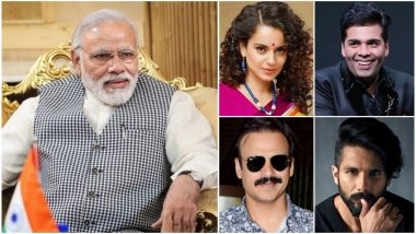PM Narendra Modi Oath-Taking Event: Kangana Ranaut, Karan Johar, Vivek Oberoi, Shahid Kapoor and Other Celebs to Attend the Swearing-In Ceremony! View Pics