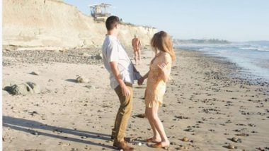 Naked Elderly Man Photobombs Couple's Pre-Wedding Photoshoot at San Deigo Beach, Hilarious Moment Goes Viral