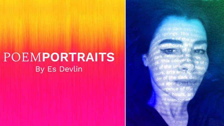 Google's new AI creates poem portrait