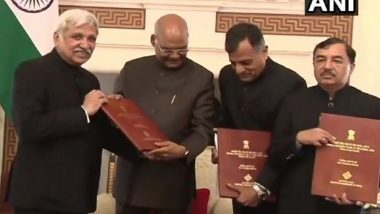 President Ram Nath Kovind Signs to Dissolve 16th Lok Sabha for the Constitution of New House