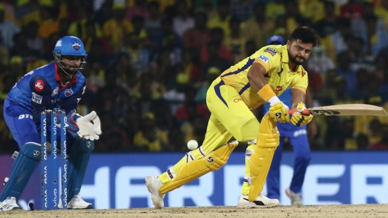 Suresh Raina Tying Rishabh Pant's Shoelaces Gives Us a Glimpse of Spirit of Cricket in IPL 2019, Watch Video