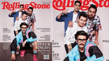 Ranveer Singh and His Gully Boys, Spitfire, SlowCheeta and KaamBhaari Feature on the Rolling Stone India Cover  - See Pic!