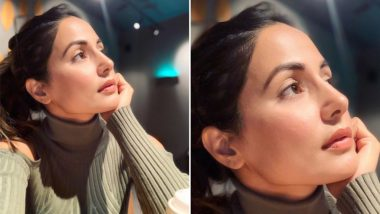 Hina Khan aka Komolika of Kasautii Zindagii Kay 2 is Completely Lost in Her Thoughts in This Instagram Picture!