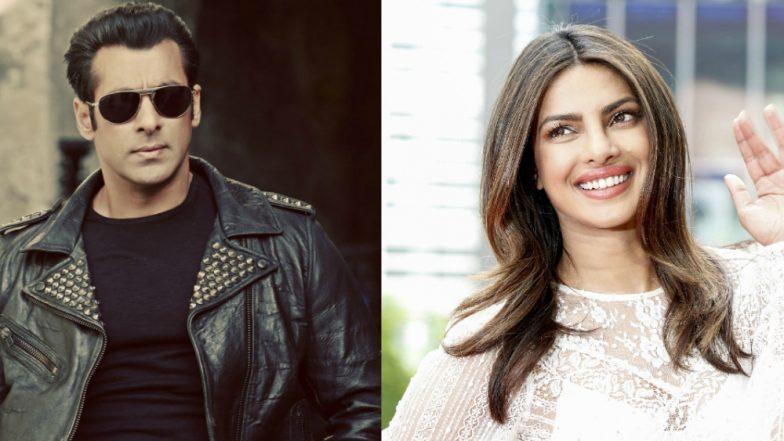 Salman Khan Takes a Dig at Priyanka Chopra AGAIN, Katrina Kaif Tells Him to 'Relax' – Watch Video