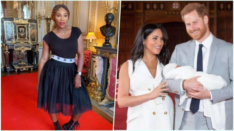 Meghan Markle to Choose Serena Williams as Royal Baby Archie's Godmother? Tennis Star's Recent Visit Sparks Speculations