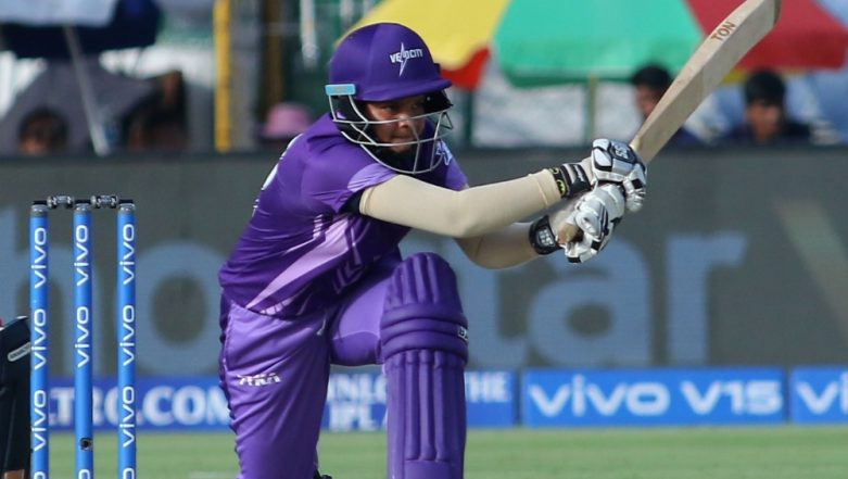 15-Year-Old Shafali Verma Shines On Women's T20 Challenge Debut for Velocity vs Trailblazers, Watch Video Highlights of Her Knock