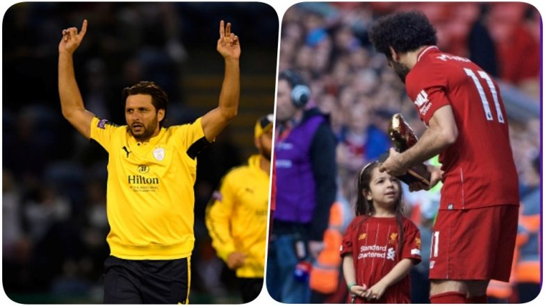 Shahid Afridi Slammed by Netizens Over Not Allowing His Daughters to Play Cricket; Social Media Users Cite Example of Mohamed Salah (Watch Video)