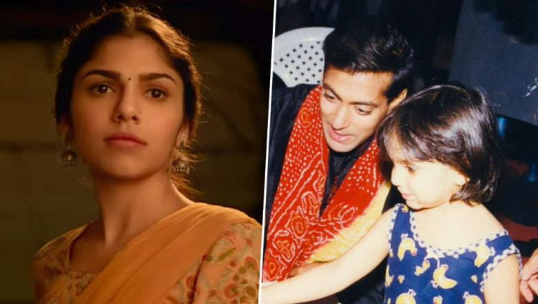 Salman Khan Shares a Picture With Sharmin Segal From the Sets of Hum Dil De Chuke Sanam to Wish Her Luck for Malaal - View Pic