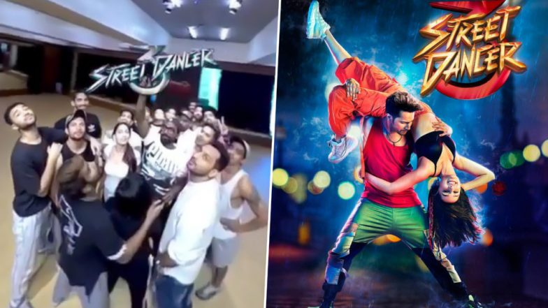 Street Dancer 3D Video: Varun Dhawan Shares a Glimpse From the Set, Fans Ask Where Are Shraddha Kapoor and Shakti Mohan