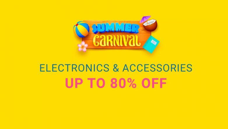 Flipkart Summer Carnival Sale: Best Deals on Smartphones, Gaming Laptops, Cameras, Headphones & Accessories This Akshaya Tritiya 2019