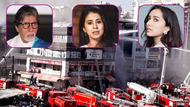 Surat Fire Tragedy: Amitabh Bachchan, Urmila Matondkar, Shraddha Kapoor and Other Bollywood Celebs Offer Condolence- Read Tweets