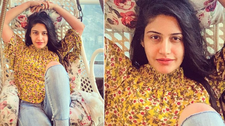 Surbhi Chandna Flaunts Her Deglam Look Confidently in Her