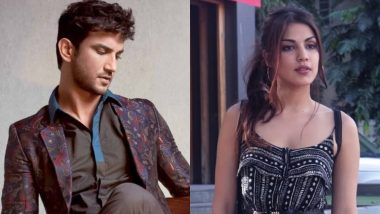 Sushant Singh Rajput Finally Reacts to His Relationship Stories with Rhea Chakraborty - Here's What He Has to Say