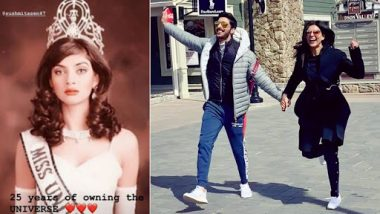 Sushmita Sen Completes 25 Years As Miss Universe: Boyfriend Rohman Shawl Has the Cutest Tribute for His Love