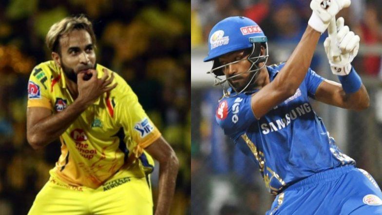MI vs CSK IPL 2019 Final: It Is Hardik Pandya vs Imran Tahir Among Key Battles for Mumbai Indians vs Chennai Super Kings
