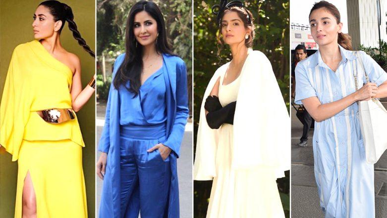 Katrina Kaif, Alia Bhatt and Kareena Kapoor Khan's Impeccable Styling Deserves a Round of Applause - View Pics
