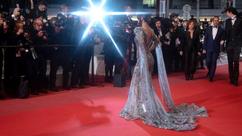Hina Khan at Cannes Film Festival 2019: Fans Can't Keep Calm as Actress Goes Ultra-Glam for Her Red Carpet Debut