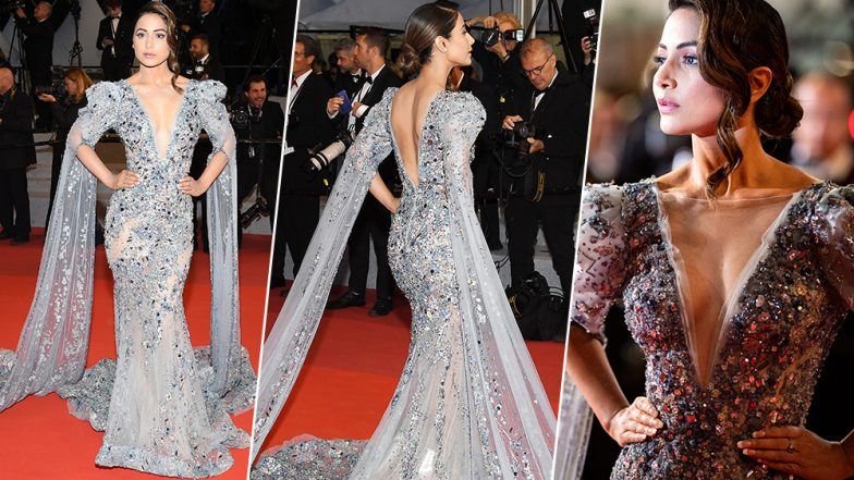 Hina Khan at Cannes 2019: Here's All About the Ziad Nakad Gown and Actress' Look From the Big Night