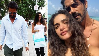 Arjun Rampal-Gabriella Demetriades Back to the Grind Post Their Exotic Maldives Trip! See Pics