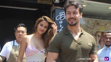Disha Patani and Tiger Shroff Are All Smiles On Their Sunday Date-View Pics