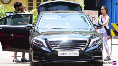 Look Who Accompanied Shahid Kapoor and Mira Rajput to the Gym, Baby Misha! See Pics