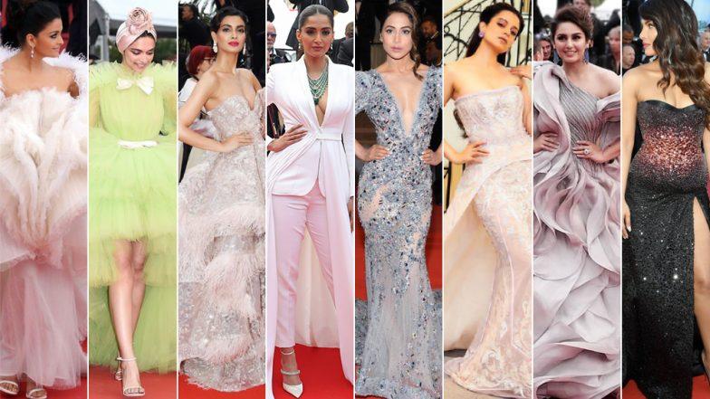 Cannes 2019: Aishwarya Rai Bachchan, Deepika Padukone, Hina Khan or Sonam Kapoor - Who Had the Most Impressive Red Carpet Outing This Year?