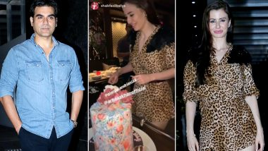 Arbaaz Khan Celebrates Girlfriend Giorgia Andriani's Birthday in Style! Khan Family Joins the Grand Party – See Inside Pics