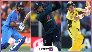 ICC Cricket World Cup 2019 Top Scorer Predictions: Virat Kohli, Jos Buttler, David Warner, Steve Waugh's Top 3 Batsmen for CWC19